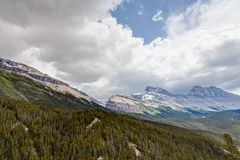 Sunwapta Pass- Jasper National Park- Alberta- Canada Royalty Free Stock Photos