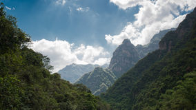 Sunward berg Royalty-vrije Stock Afbeeldingen