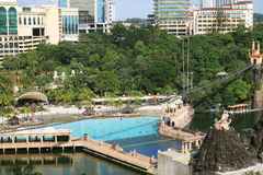 Sunway Lagoon outdoor water theme park in Malaysia Stock Photography