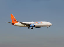 Sunwing Airlines Boeing 737 jet Stock Images