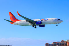 Sunwing Boeing 737 Stock Photos