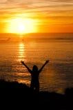 Sunworshipper Стоковое фото RF