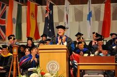 SUNY Potsdam Staffelung-Zeremonie 2012 Lizenzfreies Stockfoto
