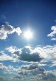 Suny sky Stock Image