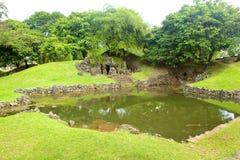 Sunyaragi-Höhle Cirebon Stockfoto