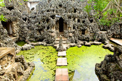 Sunyaragi-Höhle Cirebon Stockfotos