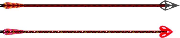 Suo & suo frecce Immagini Stock