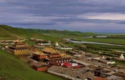 Suoke Tybetańczyka Świątynia Fotografia Stock