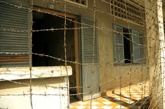Suol Sleng prison Royalty Free Stock Photography