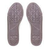 Suole delle scarpe da tennis classiche Fotografie Stock Libere da Diritti