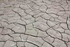 Suolo di Takir in deserto Fotografia Stock