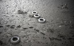 Suolo inquinato Immagini Stock Libere da Diritti