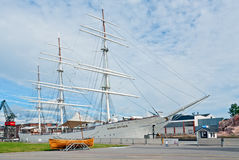 Suomen Joutsen full rigged ship Royalty Free Stock Photography