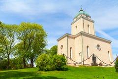 Suomenlinna Church exterior, Helsinki, Finland Stock Photography