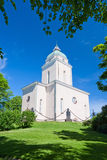 Suomenlinna church Royalty Free Stock Photo