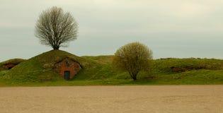 Suomenlinna fästning Arkivfoto