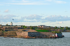 Suomenlinna fortress. Royalty Free Stock Photos