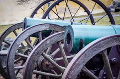 suomenlinna fortress and cannons Finland stock images