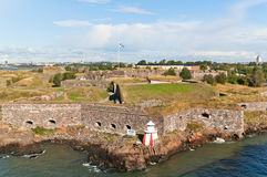 Suomenlinna fortress, Finland Royalty Free Stock Photo