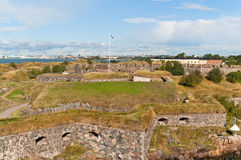 Suomenlinna fortress in Helsinki Royalty Free Stock Photography