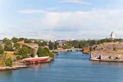 Suomenlinna fortress in Helsinki Stock Image