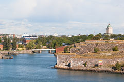 Suomenlinna fortress in Helsinki Stock Photography