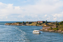 Suomenlinna fortress in Helsinki Stock Images