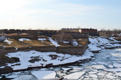 Suomenlinna fortress Stock Photo