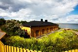 Suomenlinna fortress in Helsinki, Finland Royalty Free Stock Photos