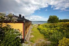 Suomenlinna fortress in Helsinki, Finland Stock Image
