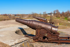 Suomenlinna fortress. Helsinki, Finland Royalty Free Stock Photo