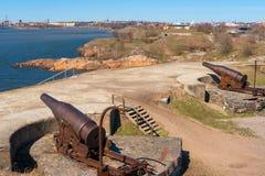 Suomenlinna fortress. Helsinki, Finland Stock Image