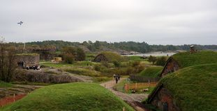 Suomenlinna. The fortress of Helsinki, UNESCO site Royalty Free Stock Photos
