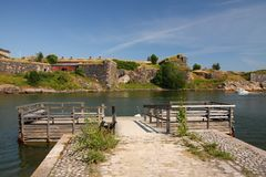 Suomenlinna Fortress island Royalty Free Stock Photos