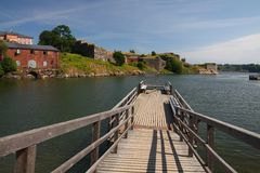 Suomenlinna Fortress island Stock Photos