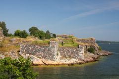 Suomenlinna Fortress island Stock Photography