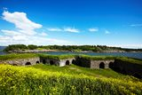Suomenlinna fortress Stock Images