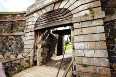 Suomenlinna fortress Stock Photo