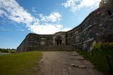 Suomenlinna fortress Stock Photography
