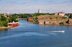 Suomenlinna, Helsínquia, Finlandia Fotografia de Stock Royalty Free