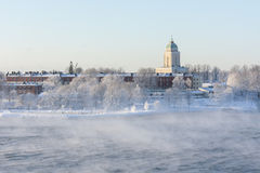 Suomenlinna in Helsinki, Finland at winter Royalty Free Stock Image
