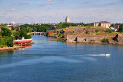 Suomenlinna, Helsinki, Finlandia Fotografia Stock Libera da Diritti