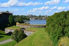 Suomenlinna i e Sveaborg in Helsinki, Finland Royalty-vrije Stock Foto