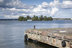 Suomenlinna Island, Helsinki, Finland Royalty Free Stock Images