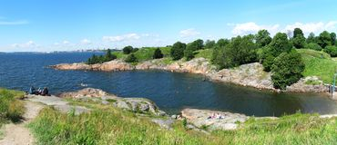 Suomenlinna island in Helsinki Stock Image