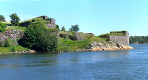 Suomenlinna island in Helsinki Royalty Free Stock Photos