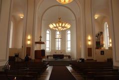 Suomenlinna kyrka Royaltyfri Fotografi