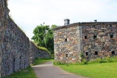 Suomenlinna Maritieme Vesting Royalty-vrije Stock Foto