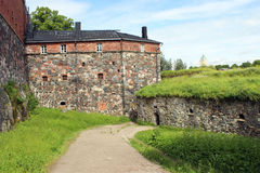 Suomenlinna Maritime Fortress in Helsinki. In Finland Stock Images