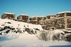 Suomenlinna Sea Fortress Royalty Free Stock Images
